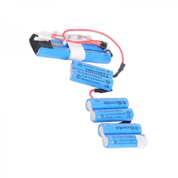 Аккумуляторы (батарейки) Ergorapido для пылесоса Electrolux (Электролюкс) 1,2 V АА 1300 mAh
