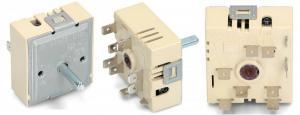 Регулятор мощности конфорки для электроплит Ariston (Аристон), Indesit (Индезит), Ardo (Ардо) (старого типа белый)